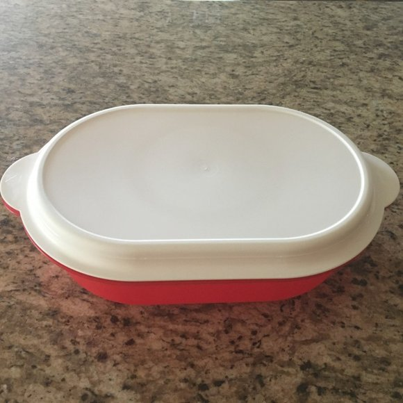 NEW Tupperware Open House Large Oval Server